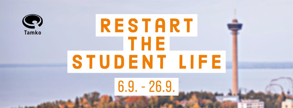 Restart the Student Life 6.9.-26.9.